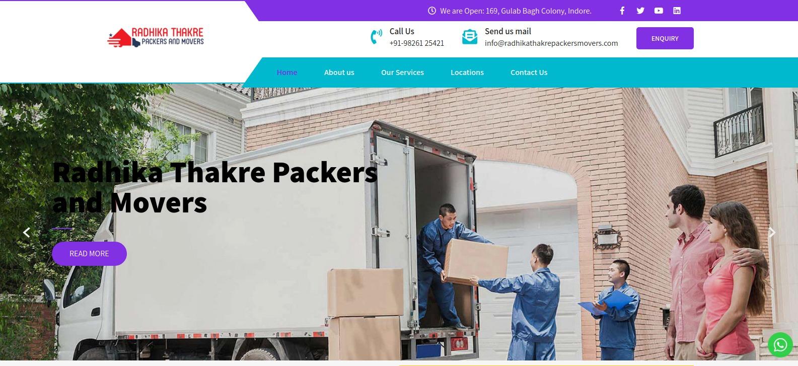 Radhika Thakre Packers and Movers